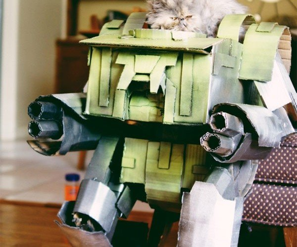 Mechwarrior Cat Playhouse is Meow-velous