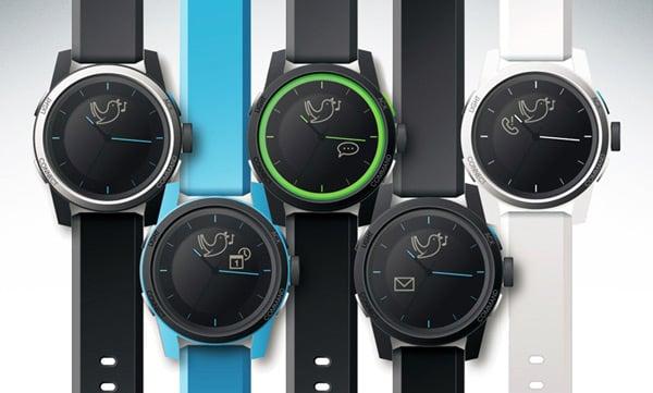 cookoo analog smartwatch smartphone watch kickstarter