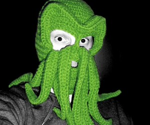 Cthulhu Ski Mask is R'lyeh Creepy