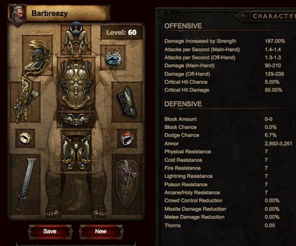 Unofficial Diablo 3 Hero Planner is Better than Official Diablo 3 Skill Calculator