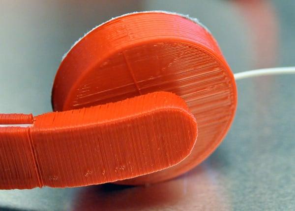 ear adapter jc karich earbud headphone 3d printed