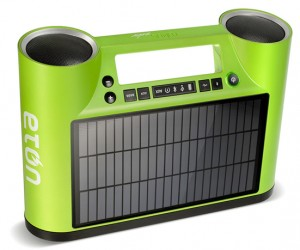 Eton Rukus Solar-Powered Bluetooth Speaker: Play Your Tunes Anywhere