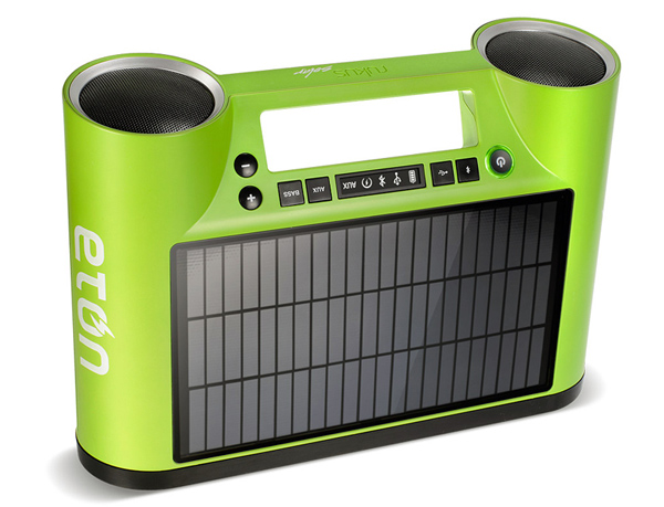 eton rukus solar speaker bluetooth portable