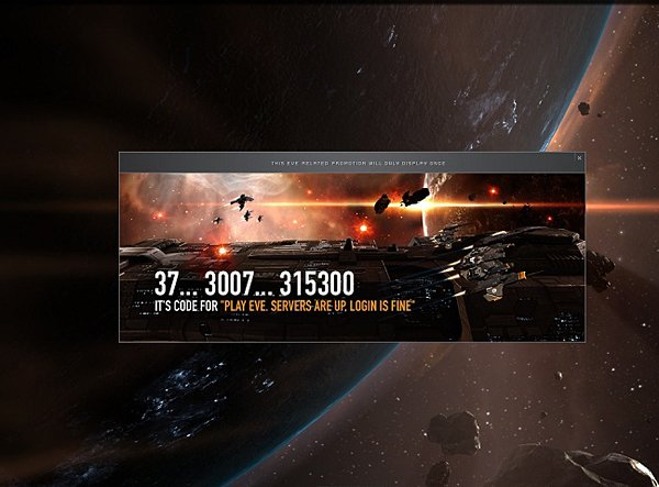eve online diablo error message code