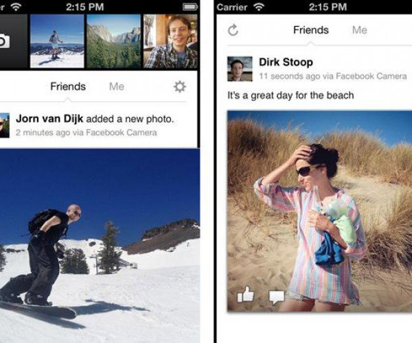 Facebook Camera App Release Seems Puzzling