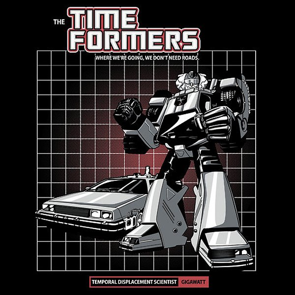 gigawatt time formers t-shirt