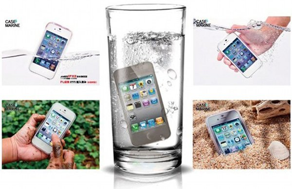 gooma case marine waterproof iphone galaxy waterproof