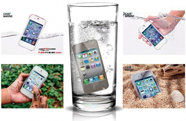 gooma case marine iphone samsung galaxy waterproof