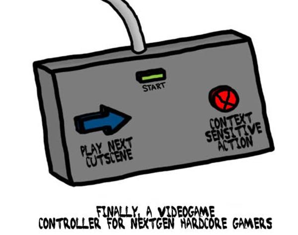 hardcore controller joke