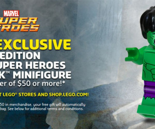 LEGO Giving Away Exclusive Limited-Edition Hulk Minifigs