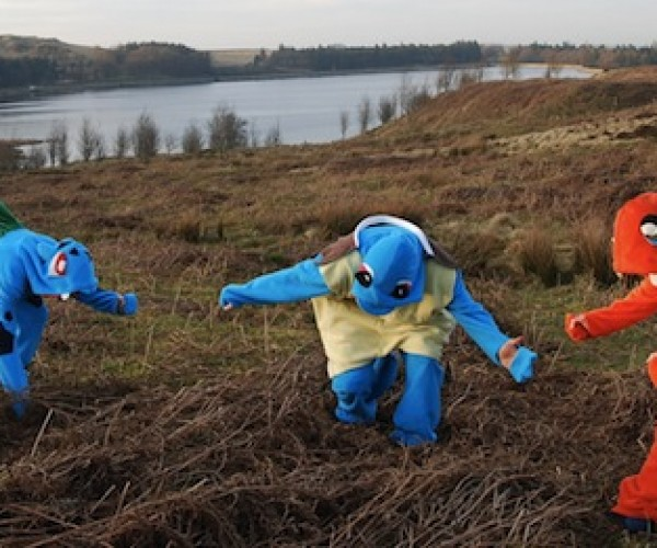 Custom Pokemon Onesies for Being Weird and Reenacting Battles of Old