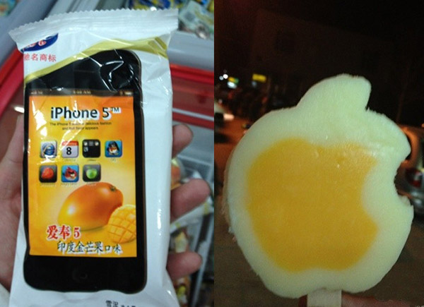 iphone 5 popsicle