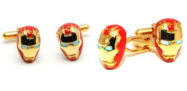 iron man cufflinks 2