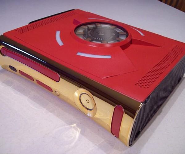 iron man xbox 360 case mod by zachariah cruse 2