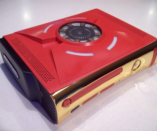 iron man xbox 360 case mod by zachariah cruse 3