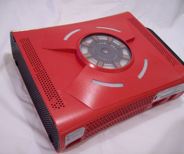 iron man xbox 360 case mod by zachariah cruse 6