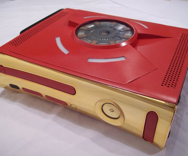 iron man xbox 360 case mod by zachariah cruse 7