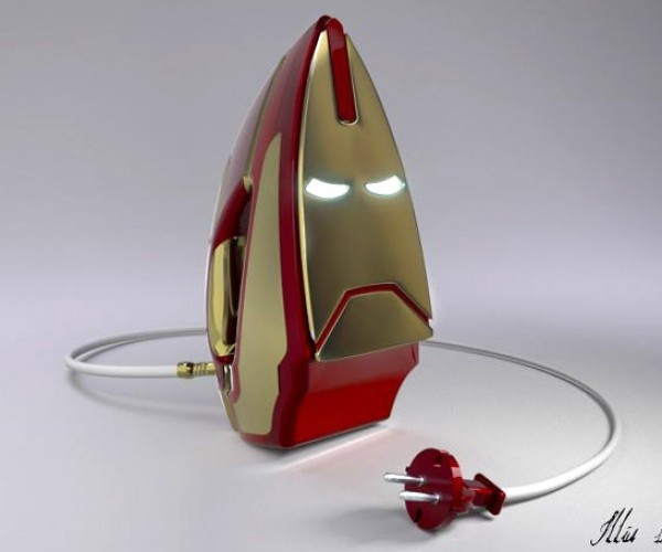 The Iron Man Clothes Iron for Real Men Who Like to Iron