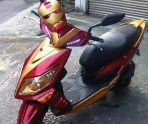 Iron Man Scooter: Not Quite a Transformer
