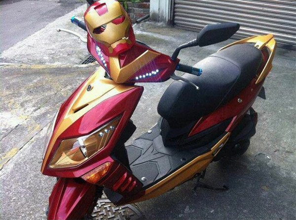 iron man scooter