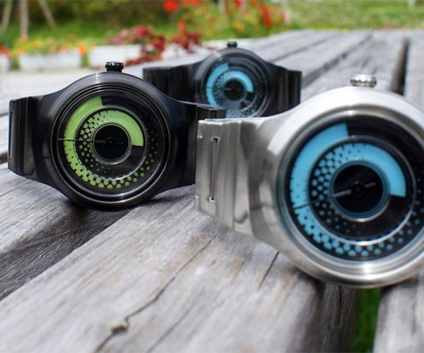 TokyoFlash Kisai Uzumaki Watch Sounds Like a Sushi Roll, Looks Nothing Like One