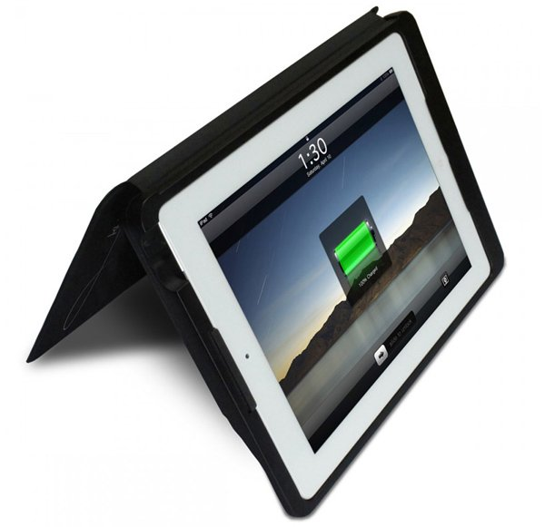 kudocase solar charging case ipad movie