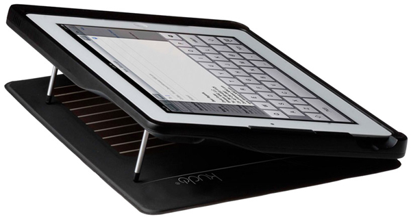 kudocase solar charging case ipad kickstarter lilypad