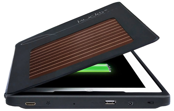 kudocase solar charging case ipad