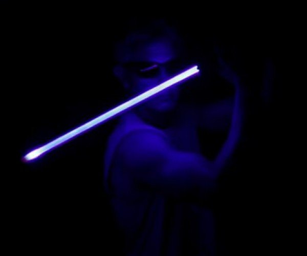 LaserSaber is as Close to a Lightsaber as We Can Get