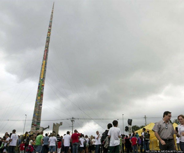 World's Tallest LEGO Tower Stands Nearly 105 Feet-Tall
