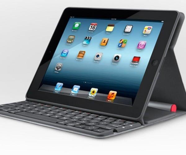 Logitech Solar Keyboard Folio: A Slimmer iPad Keyboard Case