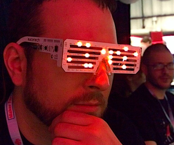 LED Matrix Glasses: That Hack Cray