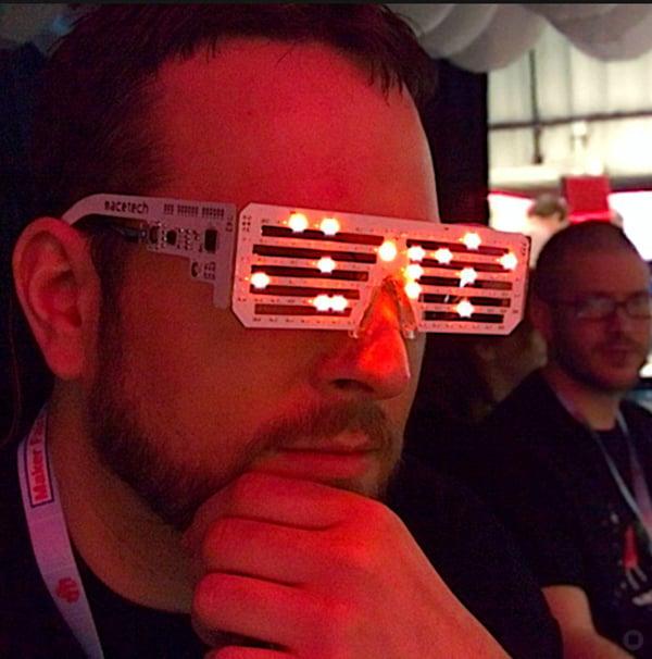 macetech led matrix glasses by garrett mace