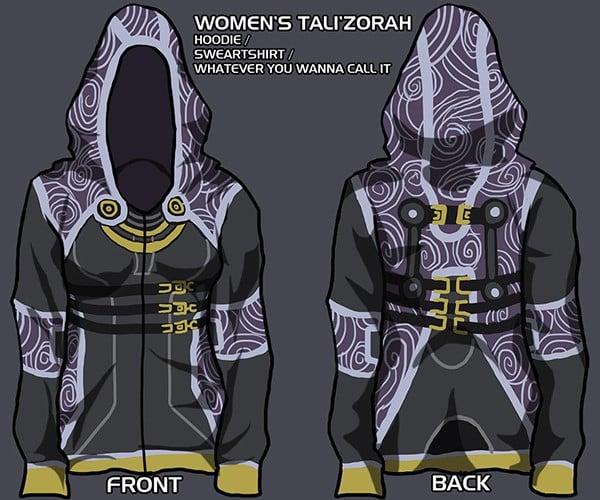 mass effect hoodie concept by christine schott 2