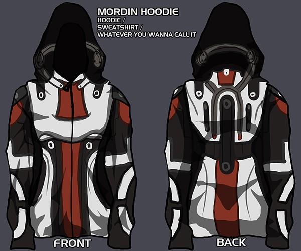 mass effect hoodie concept by christine schott 5