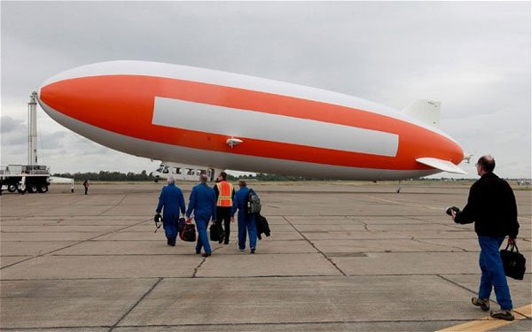 nasa blimp