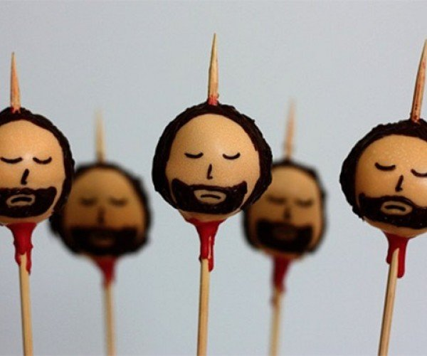 Ned Stark Cake Pops: Deliciously Decapitated