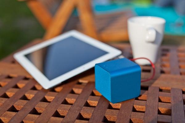 nuforce cube speaker audio mobile portable