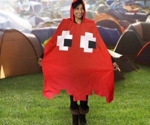 Pac-Man Poncho Perfect for When It's Raining Power Pellets
