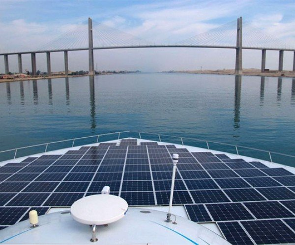 Solar-Powered PlanetSolar Boat Completes Trip Around the World