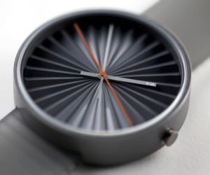 Nava Plicate Watch: Time for Pleats