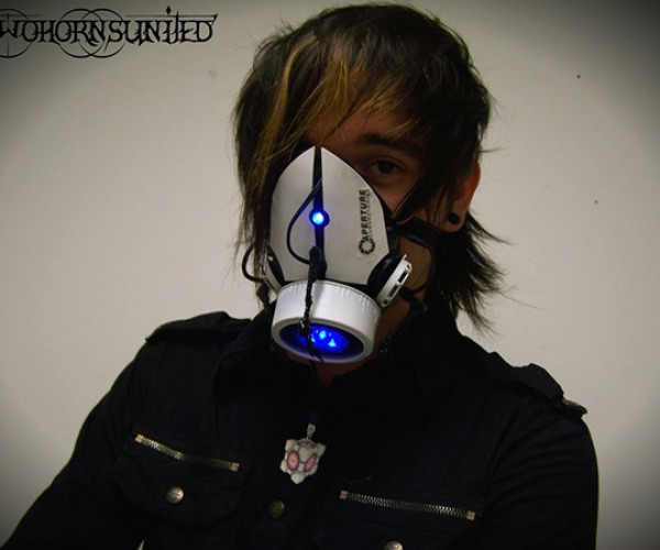 portal gun gas mask by twohornsunited 2