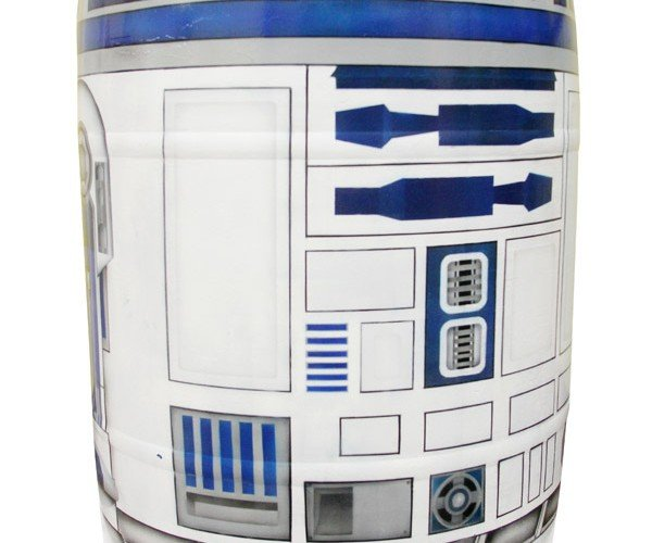 R2-D2 Rain Barrel Collects Water Without Swimming through the Dagobah Swamp