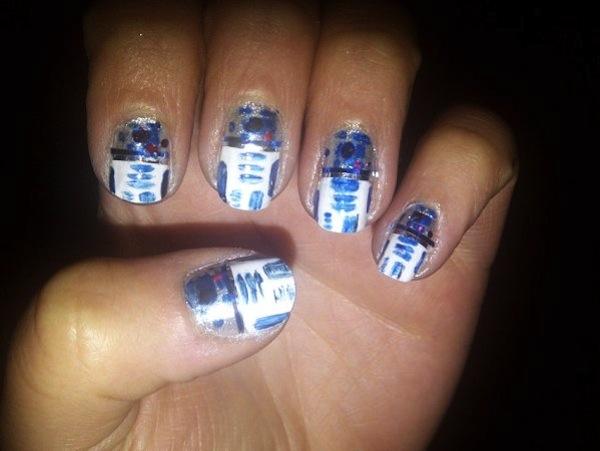 r2-d2 nail polish