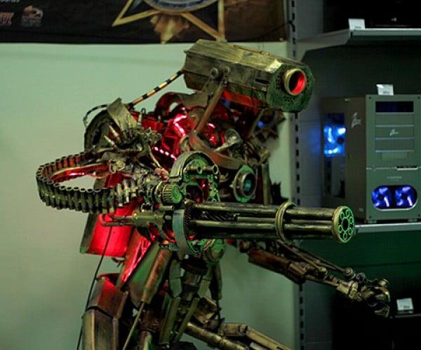robot pc case mod by wehr-wolf 2