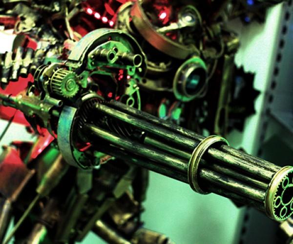 robot pc case mod by wehr-wolf 7