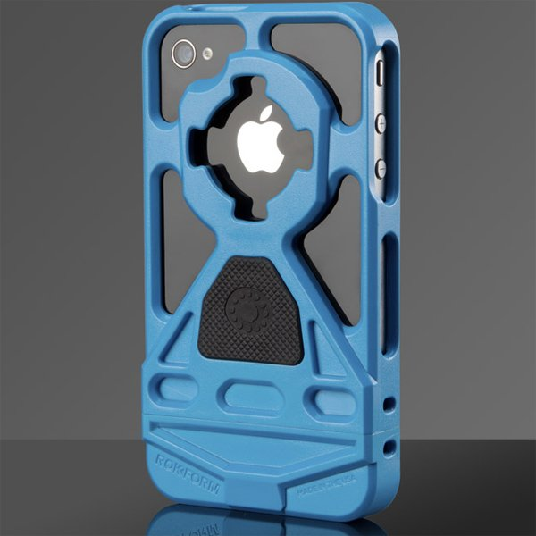 rokbed v3 mountable rokform case iphone blue