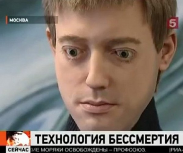 "Russian Researchers Build Creepy Android to Make Humans ""Immortal"""