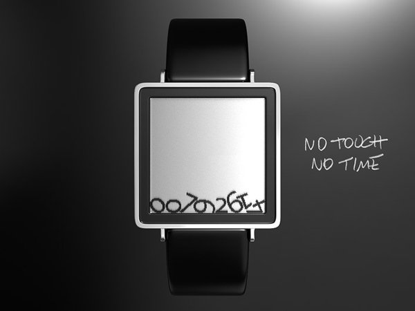 sam jerichow gravity tokyoflash watch concept lcd