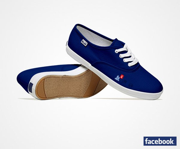 social media shoes facebook